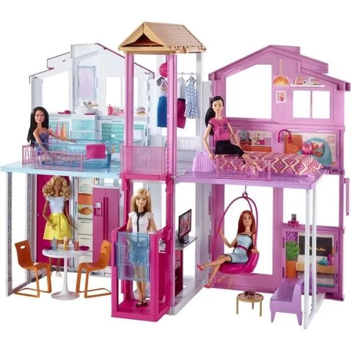 accessoire poupee barbie maison de luxe