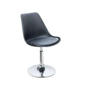 chaise poppy chaise de salle a manger pivotante simili