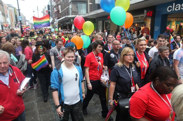 Pride Parade Newcastle