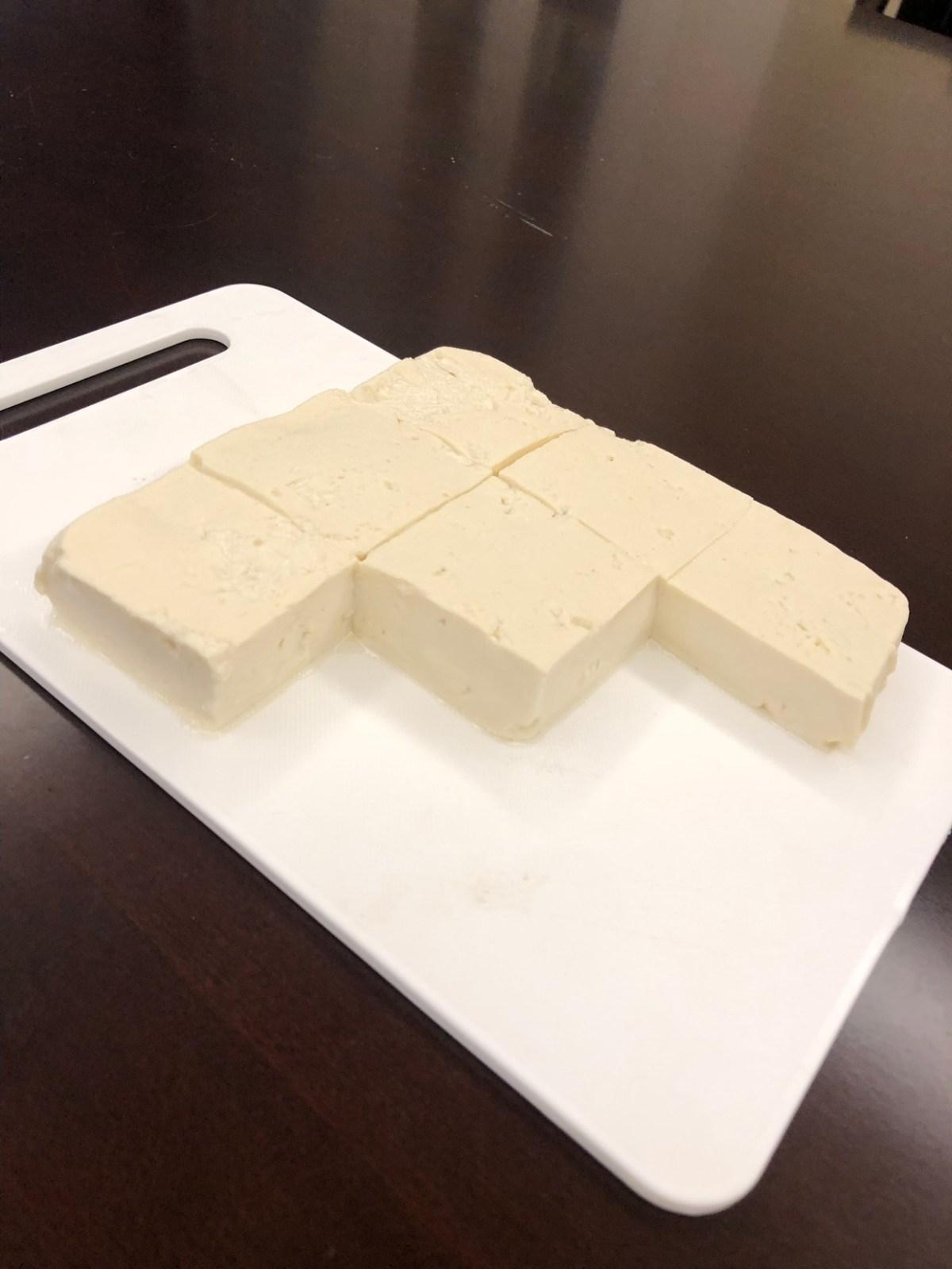自制豆花豆腐(熟石膏版)