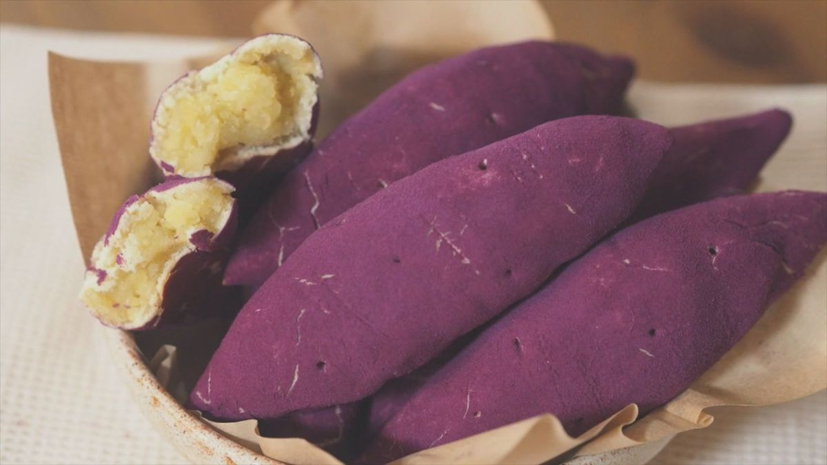 网红韩式红薯面包