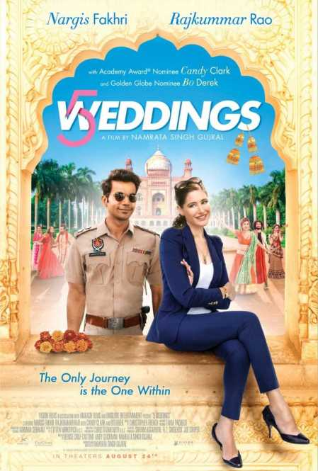 Image result for 5 weddings poster