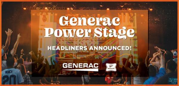 Summerfest Announces Generac Power Stage Headliners and Performance Dates