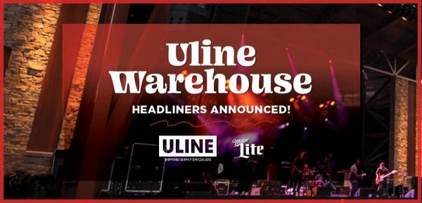 Summerfest Announces Uline Warehouse Headliners and Performance Dates