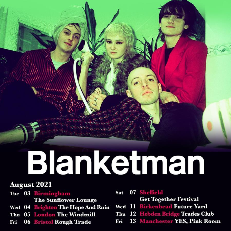 Blanketman tour poster
