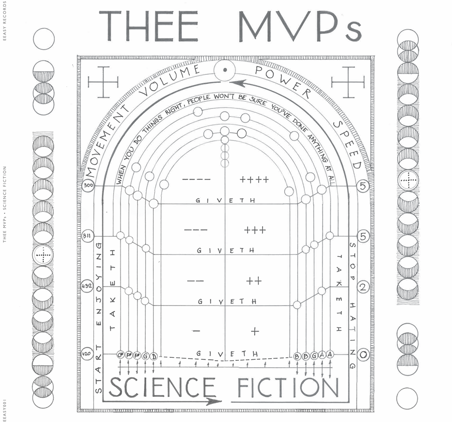 There MVPs Science Fiction Cover artwork