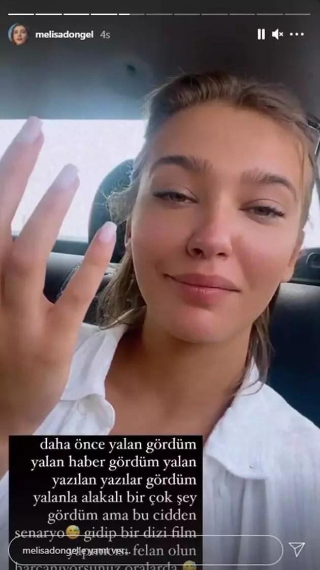 Melisa Döngel'den 'uçak krizi' iddialarına cevap!