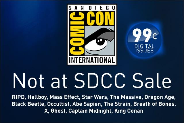 SDCC Sale now live!