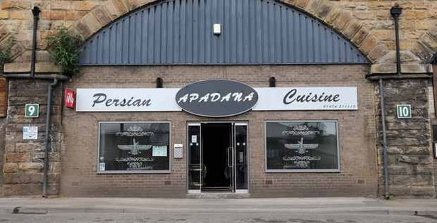 Apadana restaurant on Viaduct Street