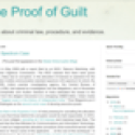 The Proof of Guilt