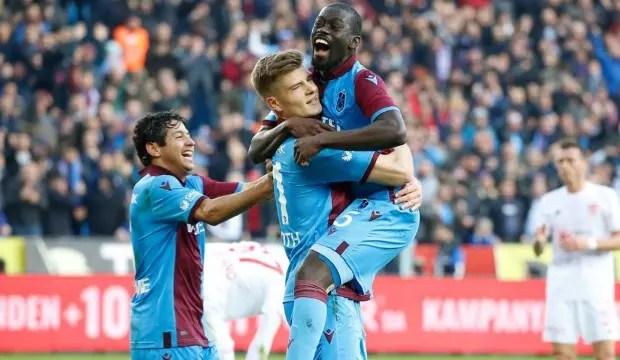 Trabzonspor yenilgiyi unuttu! 1