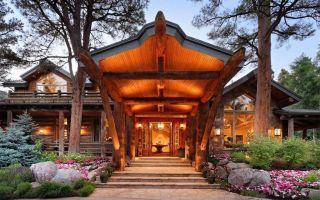 -美屋欣赏-在科罗拉多州阿斯彭的华丽木屋