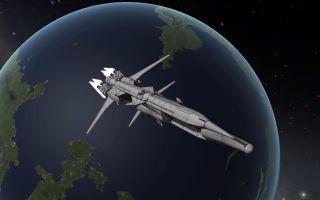 【坎巴拉星战计划】重型运输舰'银河'向DUNA空投基地生活舱