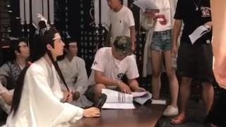 【陈情令·片场·花絮】导演在讲怎么把叔父气倒?