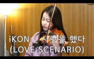 【小提琴】iKON - Love scenario【Jenny Yun】
