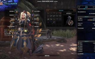 【怪物猎人世界】【MHW】炎钢丝瓜盾斧幻化+武器特效mod