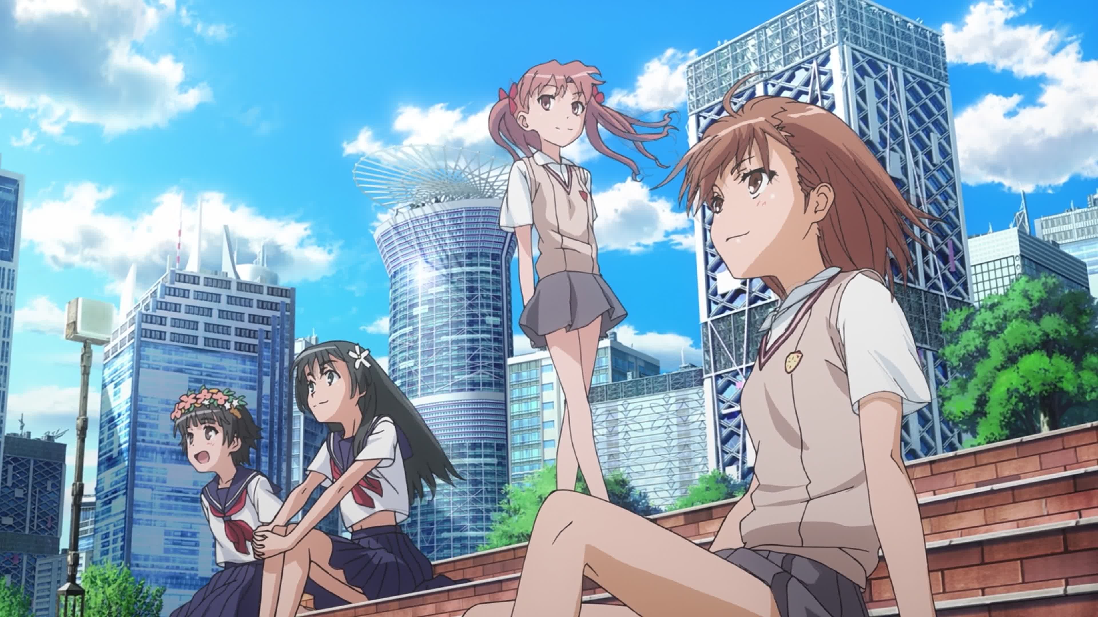 Image result for certain scientific railgun anime