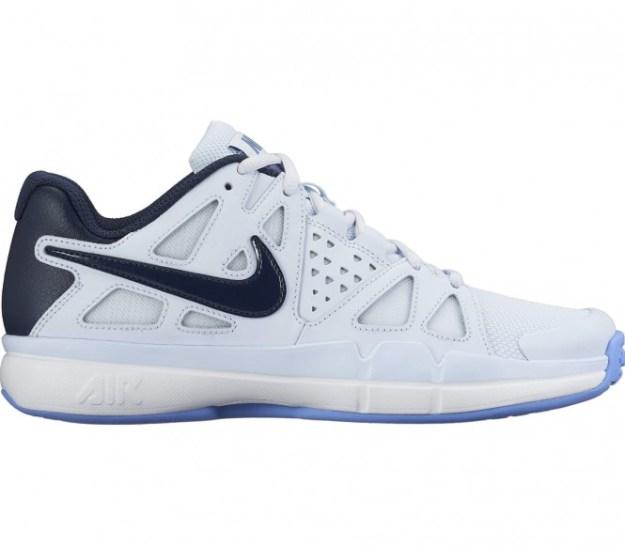 Nike - Air Vapor Advantage Omni chaussures de tennis pour femmes (blanc/bleu) - EU 43 - US 11