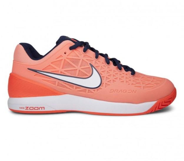 Nike - Zoom Cage 2 chaussures de tennis pour femmes (corail/orange) - EU 40 - US 8,5