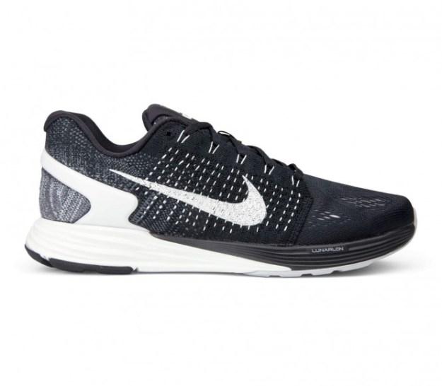 Nike - LunarGlide 7 Chaussures de running pour hommes (noir/blanc) - EU 44 - US 10