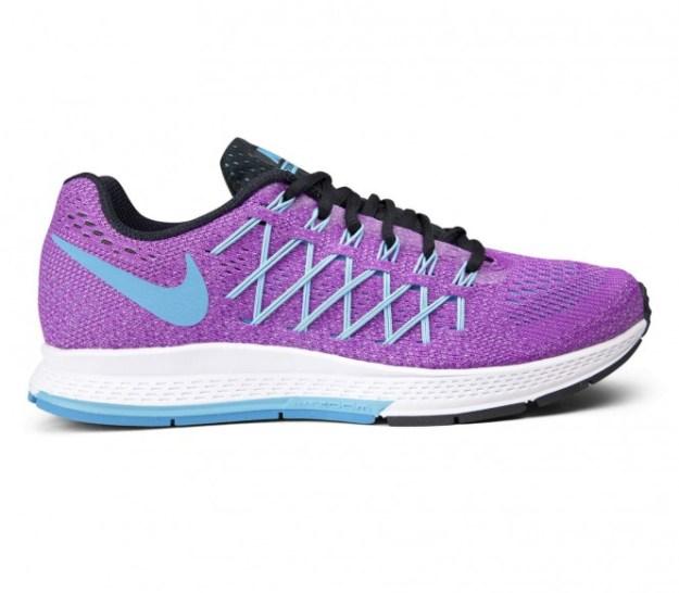 Nike - Air Zoom Pegasus 32 Chaussures de running pour femmes (mauve/bleu clair) - EU 41 - US 9,5