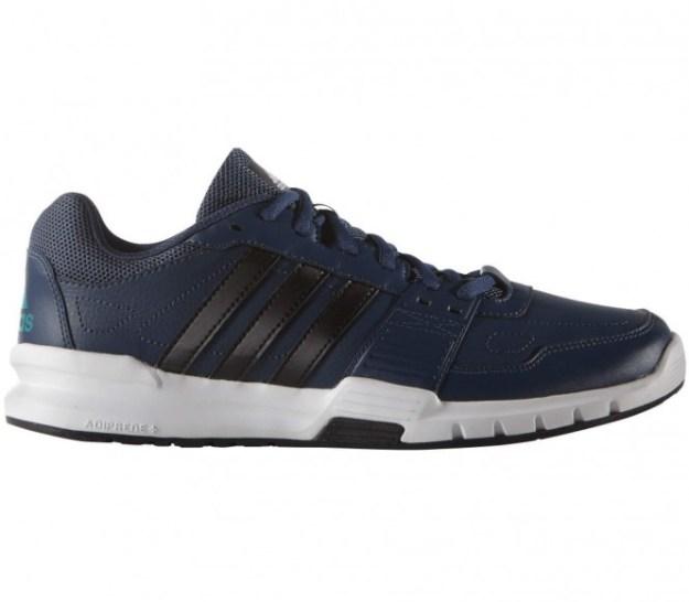 Adidas - Essential Star 2 chaussures de training pour hommes (bleu foncé/noir) - EU 43 1/3 - UK 9