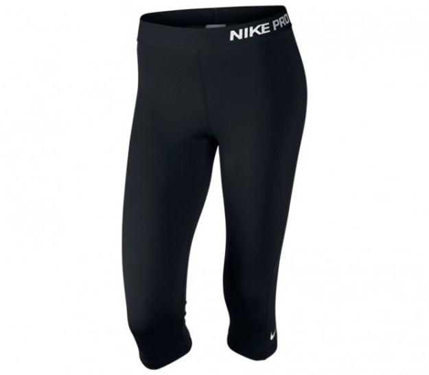Nike - Collant Pro Capri Femmes (noir)