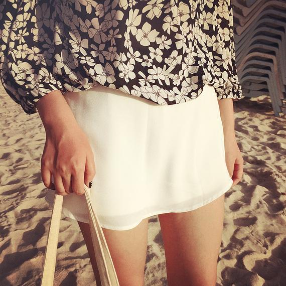 【時尚搭配】顯瘦顯高防走光利器——夏秋季百搭裙褲 - 每日頭條