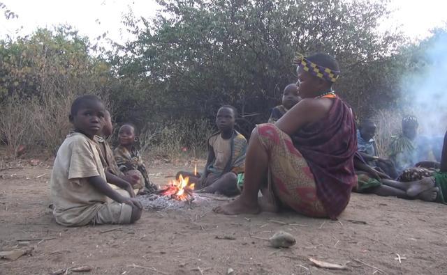 在非洲東部坦尚尼亞森林中生活著無憂無慮的原始部落 - 每日頭條