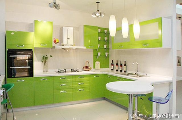 你家的廚房是什麼顏色的呢?不同顏色可帶來不同作用喲! - 每日頭條