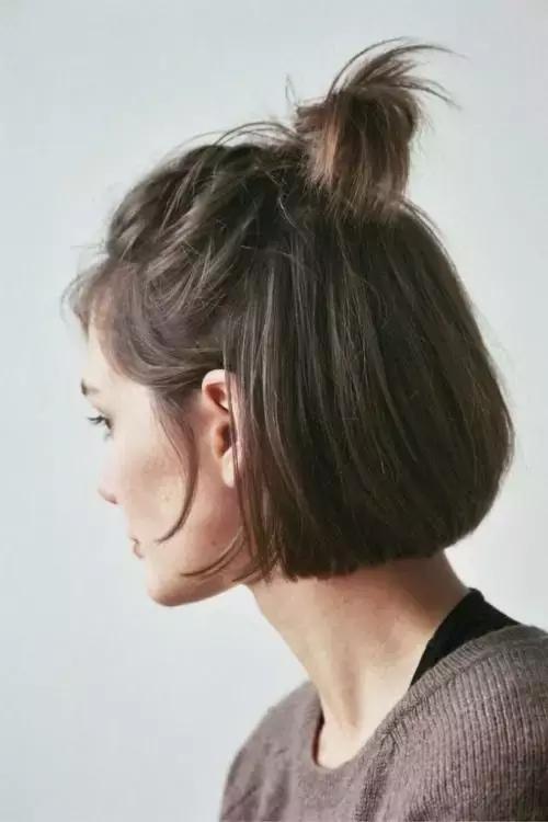 短髮編髮居然比長發編髮還要好看十倍! - 每日頭條