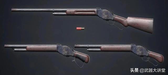 經典但不流行的M1887霰彈槍,卻因為一部電影為世人所熟知 - 每日頭條