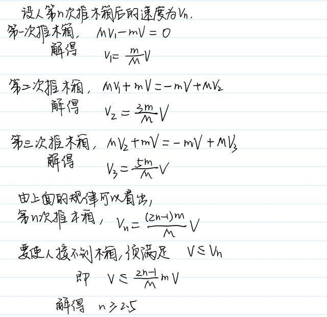 數學中的歸納法在高中物理中的應用 - 每日頭條