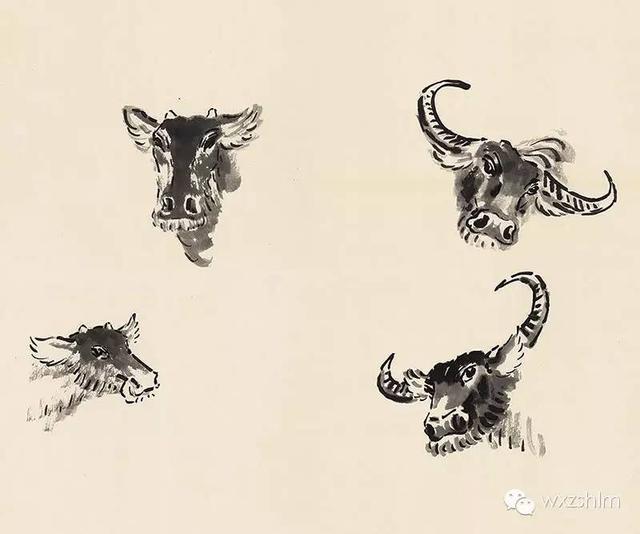 自學寶典:國畫牛的畫法步驟圖文詳解!水墨畫 - 每日頭條