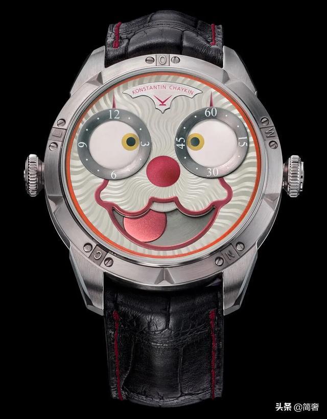 「鑑賞」全球限量99支 Konstantin Chaykin 小丑表情 腕錶 - 每日頭條
