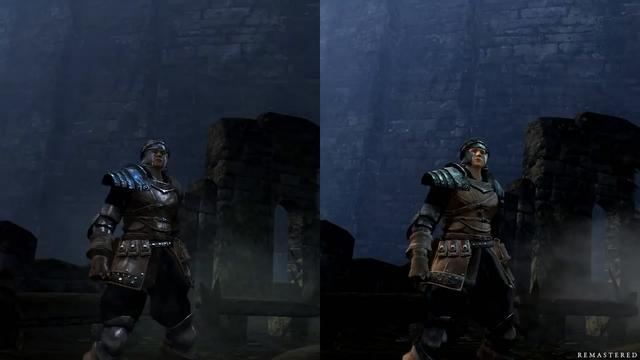 《黑暗之魂》重製版/原版對比視頻 遊戲畫面進步有多大? - 每日頭條