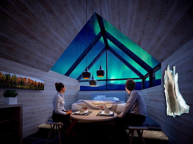 芬蘭極光聖地——玻璃酒店(下) - 每日頭條