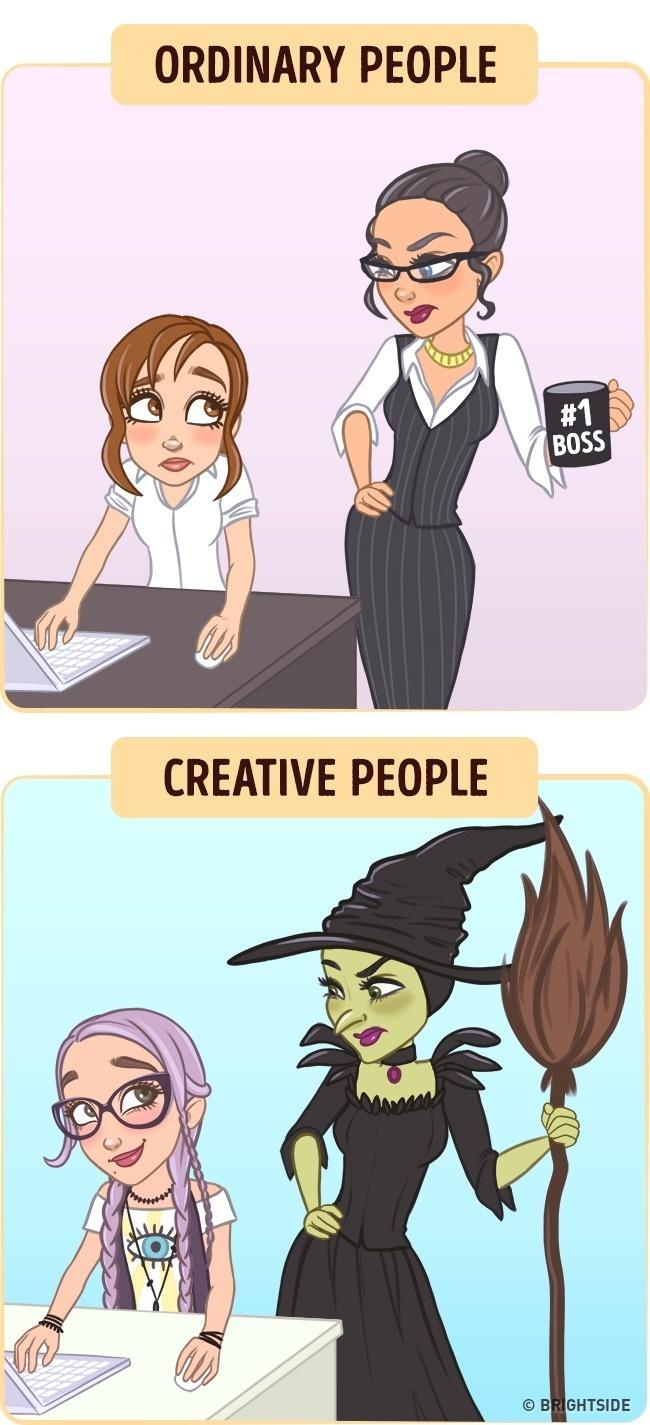 How Creative People See Their Boss How Creative People