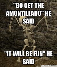 Image result for the cask of amontillado meme