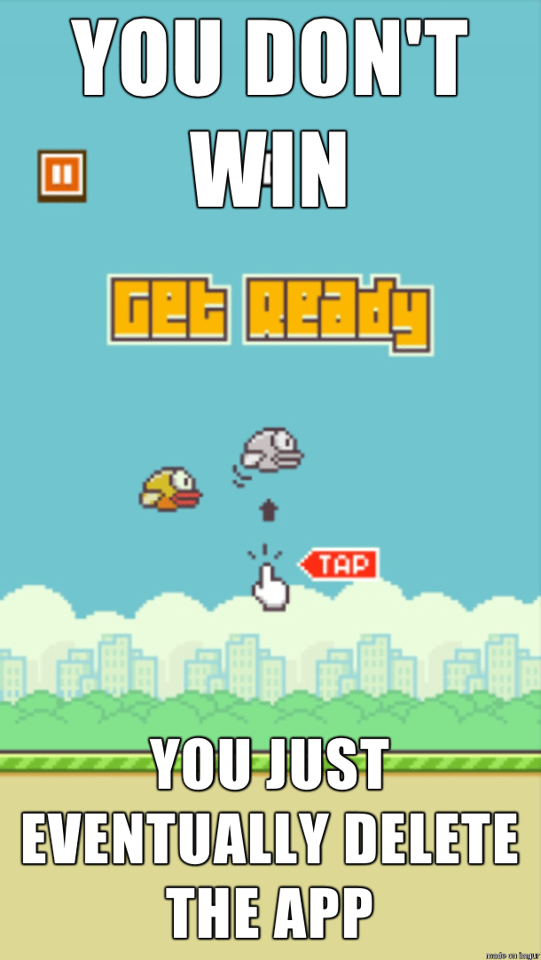 Flappy Bird You Don't Win