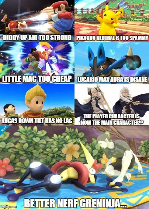 I Dont Agree With All Of These Better Nerf Greninja