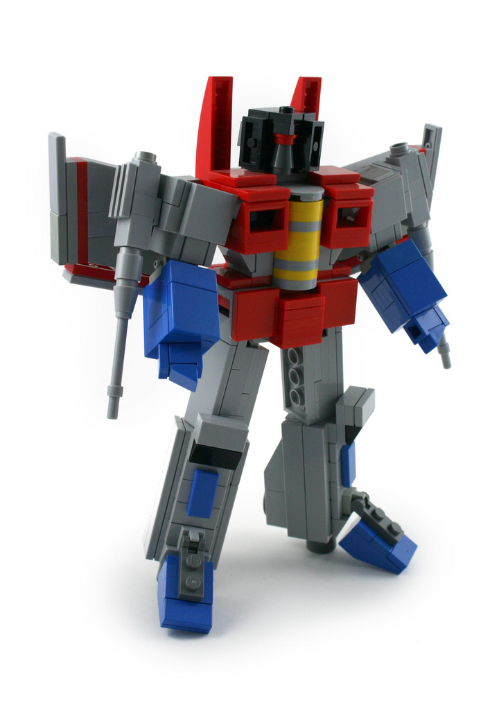 G1 Starscream Lego By Angus MacLane Transformers