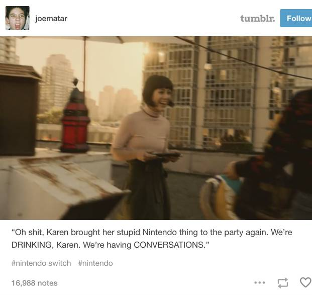 Image result for karen nintendo switch