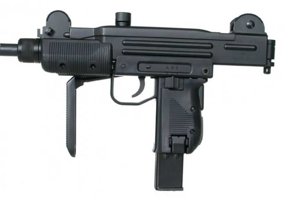 A replica Uzi for sale on Militarymart