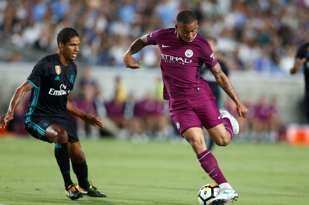 Image result for Man City beat Real Madrid 4-1
