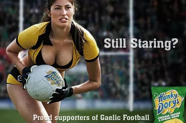 Hunky Dorys sponsors of Gaelic football