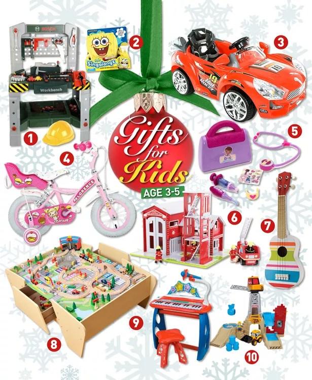 Christmas gift ideas for kids age 3-5 - Adele Jennings ...