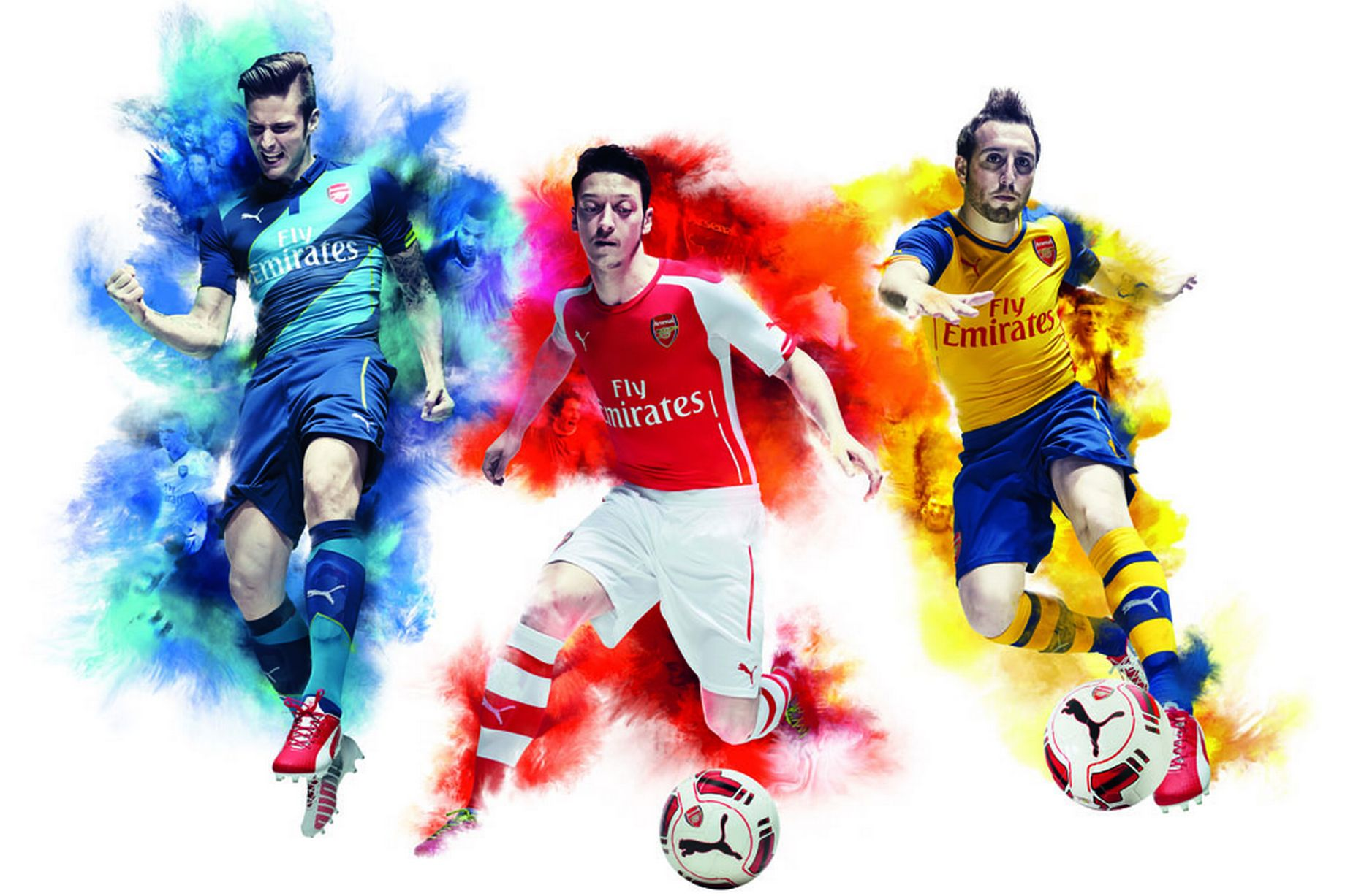Image result for ARSENAL PLAYERS wallpaper