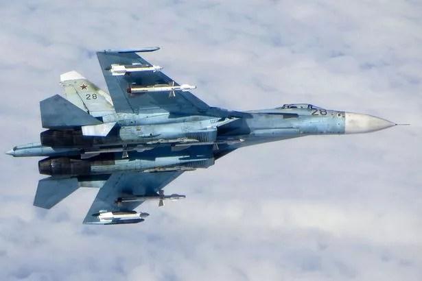 A Russian SU-25