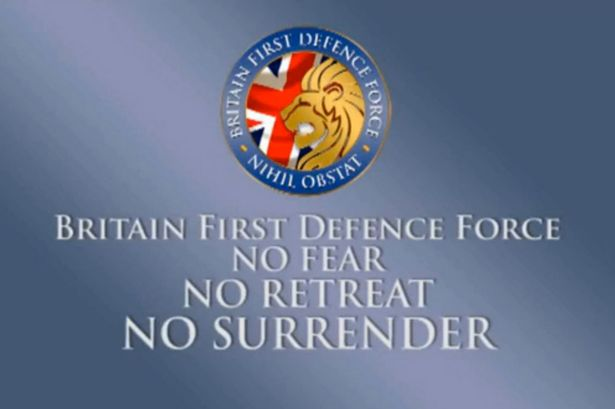 Britain First Activists